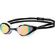 arena Python Mirror Okulary pływackie biały/czarny